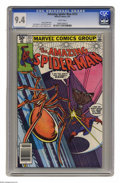 Bronze Age (1970-1979):Superhero, The Amazing Spider-Man #213 (Marvel, 1981) CGC NM 9.4 White pages. John Romita Jr. cover and art. Overstreet 2004 NM- 9.2 va...