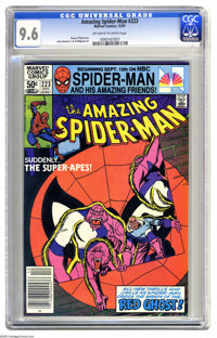 The Amazing Spider-Man #223 (Marvel, 1981) CGC NM+ 9.6 Off-white to white pages. John Romita Jr. and Al Milgrom art. One...