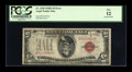 Error Notes:Inverted Reverses, Fr. 1530 $5 1928E Legal Tender Note. PCGS Fine 12.. ...