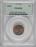 Proof Indian Cents, 1885 1C PR66 Red and Brown PCGS....