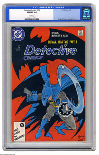 Detective Comics #578 (DC, 1987) CGC NM/MT 9.8 White pages. Clayface appearance. Todd McFarlane cover and art. Overstree...
