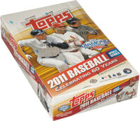 2011 Topps Update Baseball Hobby Box With 36 Unopened Packs - Mike Trout Rookie Year!