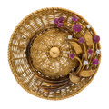 Estate Jewelry:Brooches - Pins, Diamond, Ruby, Gold Brooch, Tiffany & Co. . ...