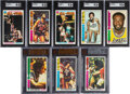 Basketball Cards:Sets, 1976 Topps Basketball High Grade Complete Set (144). ...