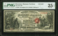 National Bank Notes:Montana, Bozeman, Montana Territory - $5 Original Fr. 399 The First National Bank Ch. # 2027 PMG Very Fine 25 EP...