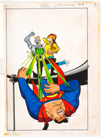 Superman Adventures #2 Production Material Group of 8 (DC Comics, 2002). ... (Total: 8 Items)