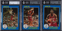 "1985 Star Co. ""NBA Court Kings"" Series Two Complete Set (25)"