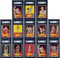 Basketball Cards:Lots, 1957 Topps Basketball Collection (73). ...