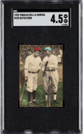 Baseball Cards:Singles (Pre-1930), 1928 Tabacalera La Morena Babe Ruth & Ty Cobb #105 SGC VG/EX+ 4.5 - Only the Second Graded Example. ...