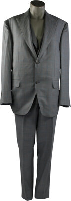 Spencer's Grey and Blue Custom ALBA Suit