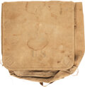 "Military & Patriotic:WWII, ""U.S."" Marked Cavalry Canvas Dispatch or Delivery Bag.. ..."
