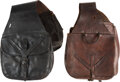Military & Patriotic:Indian Wars, Two Sets of Unmarked Saddle Bags.. ...