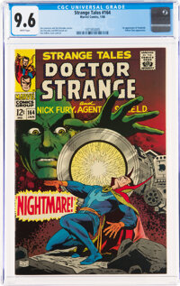 Strange Tales #164 (Marvel, 1968) CGC NM+ 9.6 White pages