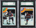 Hockey Cards:Sets, 1978 Topps & O-Pee-Chee Hockey Complete Sets Pair (2). ...