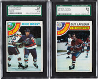 1978 Topps & O-Pee-Chee Hockey Complete Sets Pair (2)