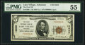 National Bank Notes:Arkansas, Lake Village, AR - $5 1929 Ty. 1 The First National Bank Ch. # 13632 PMG About Uncirculated 55.. ...