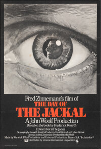 "The Day of the Jackal (CIC, 1973). Folded, Fine+. British One Sheet (27"" X 40""). Thriller"