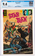 Bronze Age (1970-1979):Science Fiction, Star Trek #16 (Gold Key, 1972) CGC NM 9.4 Off-white to white pages....