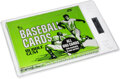 Baseball Cards:Unopened Packs/Display Boxes, 1975 Topps Baseball Cello Box with 24 Unopened Packs GAI Gem Mint 9.5 - Brett and Yount Rookie Year! ...