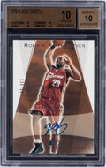 Basketball Cards:Singles (1980-Now), 2003-04 SP Authentic LeBron James (Rookie Autographs) #148 BGS Pristine 10, Auto 10 - #'d 336/500. ...