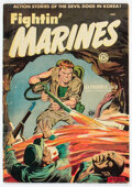 Golden Age (1938-1955):War, Approved Comics #11 Fightin' Marines (St. John, 1954) Condition: VG-....