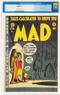 MAD #1 (EC, 1952) CGC FN/VF 7.0 Cream to off-white pages