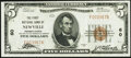 National Bank Notes:Pennsylvania, Newville, PA - $5 1929 Ty. 1 The First National Bank Ch. # 60 Extremely Fine-About Uncirculated.. ...