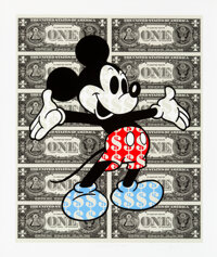 Ben Allen (b. 1979) Monster Mickey, 2018 Archival pigment print in colors on fine art paper 24-3/4 x 20-7/8 inches (6