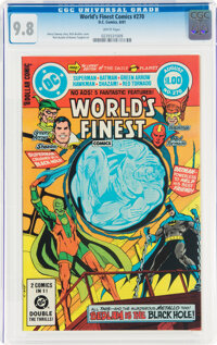 World's Finest Comics #270 (DC, 1981) CGC NM/MT 9.8 White pages
