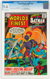 World's Finest Comics #162 (DC, 1966) CGC NM+ 9.6 Off-white to white pages