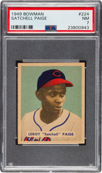 1949 Bowman Satchell Paige #224 PSA NM 7