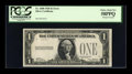 Error Notes:Missing Third Printing, Fr. 1600 $1 1928 Silver Certificate. PCGS Choice About New 58PPQ.....