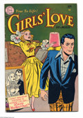 Golden Age (1938-1955):Romance, Girls' Love Stories #17 (DC, 1952) Condition: FN. White pages.Overstreet 2004 FN 6.0 value = $51....
