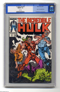 The Incredible Hulk #330 (Marvel, 1987) CGC NM/MT 9.8 White pages. Todd McFarlane's first issue as artist of the title...