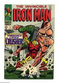 Iron Man #6 (Marvel, 1968) Condition: VF-. Johnny Craig and George Tuska art. Overstreet 2004 VF 8.0 value = $43