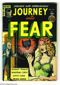 Golden Age (1938-1955):Horror, Journey Into Fear #3 Bethlehem pedigree (Superior, 1951) Condition:VF. A respectable example of Superior's horror anthology...