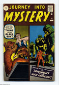 Silver Age (1956-1969):Horror, Journey Into Mystery #74 U.K. Edition (Marvel, 1961) Condition: FN.Jack Kirby cover. Nice copy, deep cover colors. Overstre...