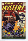 Silver Age (1956-1969):Mystery, Journey Into Mystery #76 U.K. Edition (Marvel, 1962) Condition: FN.An ominous genie is this issue's cover menace, as drawn ...