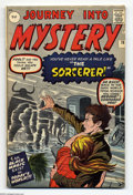 "Silver Age (1956-1969):Horror, Journey Into Mystery #78 U.K. Edition (Marvel, 1962) Condition:FN/VF. Featuring the Dr. Strange prototype ""the Sorcerer."" J..."