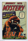 """Silver Age (1956-1969):Horror, Journey Into Mystery #81 U.K. Edition (Marvel, 1962) Condition:VF-. Jack Kirby artwork. """"The Ruler of Earth!"""" Overstreet 20..."""