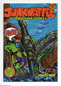 Junkwaffel #2 (Print Mint, 1972) Condition: NM-. Vaughn Bode art. This comic is not listed in Overstreet