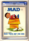 """Magazines:Mad, Mad #138 Gaines File pedigree (EC, 1970) CGC FN+ 6.5 Off-whitepages. 1960's photo spoof. """"Marooned"""" and """"M*A*S*H"""" movie par..."""
