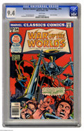 Bronze Age (1970-1979):Miscellaneous, Marvel Classics Comics #14 (Marvel, 1976) CGC NM 9.4 White pages.Featuring War of the Worlds. Yong Montano and Dino Castril...
