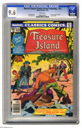 Bronze Age (1970-1979):Miscellaneous, Marvel Classics Comics #15 (Marvel, 1976) CGC NM+ 9.6 White pages.Featuring Treasure Island. Pin-up by Howard Chaykin. Dino...