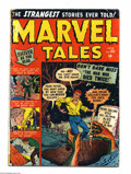 Golden Age (1938-1955):Horror, Marvel Tales #101 (Atlas, 1951) Condition: GD. Interestinggiant-spider story. Overstreet 2004 GD 2.0 value = $64....