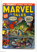 Golden Age (1938-1955):Horror, Marvel Tales #103 (Atlas, 1951) Condition: VG-. Jerry Robinson art.Overstreet 2004 VG 4.0 value = $128....