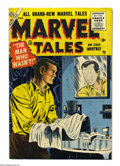Golden Age (1938-1955):Horror, Marvel Tales #132 (Atlas, 1955) Condition: VG+. Dick Ayers art.Overstreet 2004 VG 4.0 value = $44....