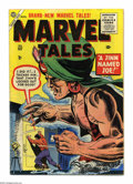 Golden Age (1938-1955):Horror, Marvel Tales #137 (Atlas, 1955) Condition: VG/FN. Bob Powell art.Pencil erasures on cover. Overstreet 2004 VG 4.0 value = $...
