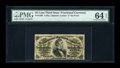 Fractional Currency:Third Issue, Fr. 1298 25c Third Issue PMG Choice Uncirculated 64 EPQ....