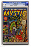 Golden Age (1938-1955):Horror, Mystic #4 Bethlehem pedigree (Atlas, 1951) CGC FN+ 6.5 Cream tooff-white pages. Basil Wolverton art. A certificate of authe...